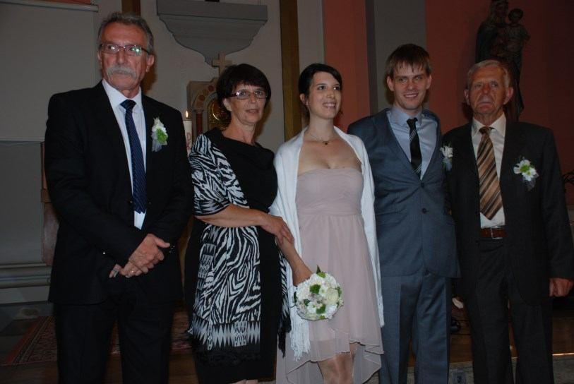 11. listopada 2014. vjenčali su se Mauro Matešić i Martina Ivašić