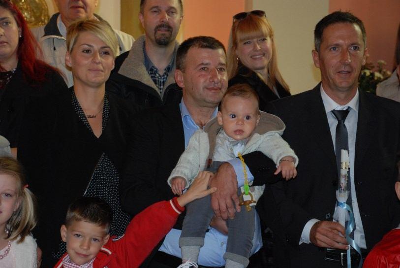 26. listopada 2014. - Krštenje: Luke Ercegović