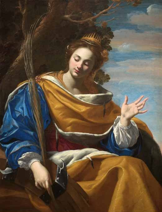 25. studenog - Sveta Katarina Aleksandrijska, djevica i mučenica