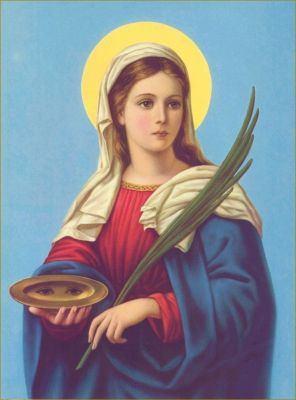 13. prosinca - Sveta Lucija, djevica i mučenica