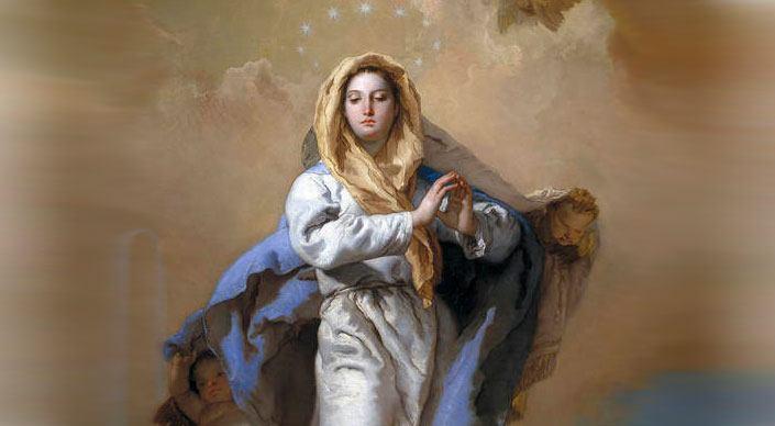 8. prosinca - Bezgrešno Začeće Blažene Djevice Marije