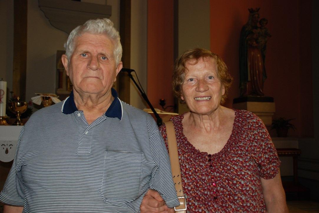 ALDO TRAVAN i IRENA TRAVAN rođena KONATIĆ - 50. OBLJETNICA SAKRAMENTA ŽENIDBE