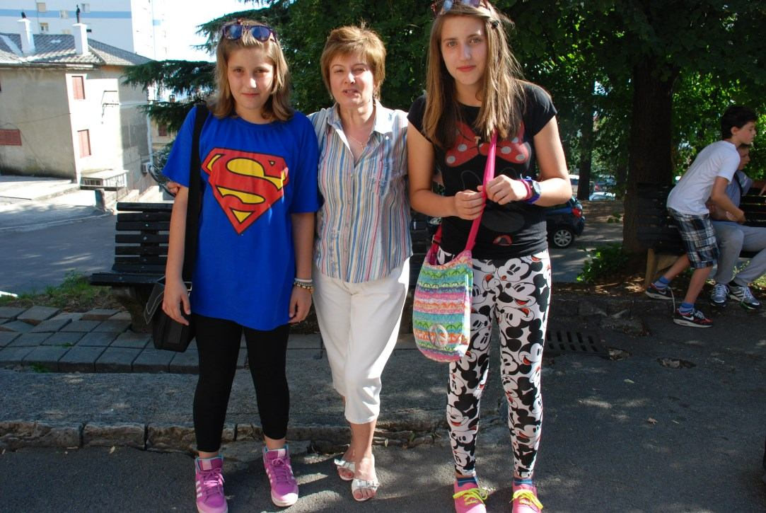 Djeca iz Rajeva Sela i Gunje sretno su stigla na Kantridu -7. srpnja 2014.