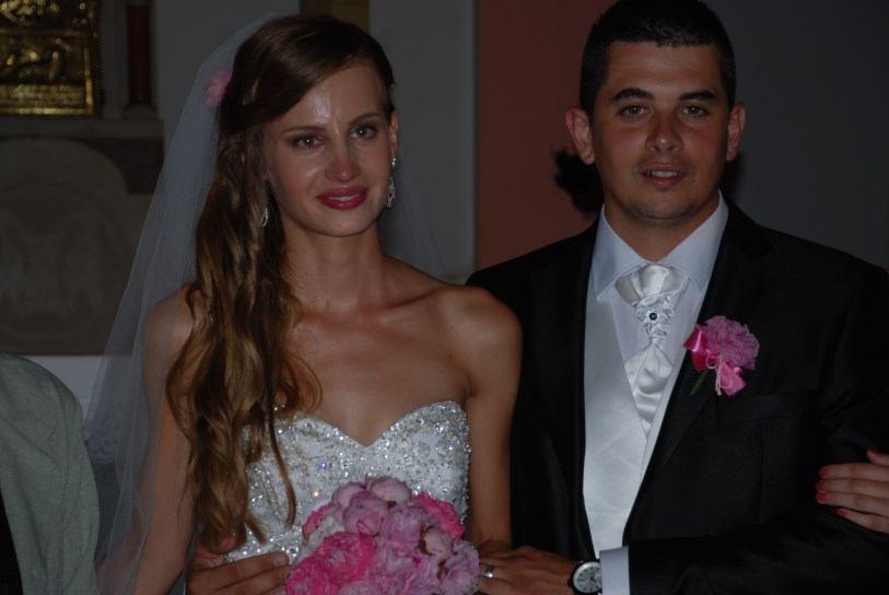 9. kolovoza 2014. - vjenčanje - Matija Palalić i Marina Salopek