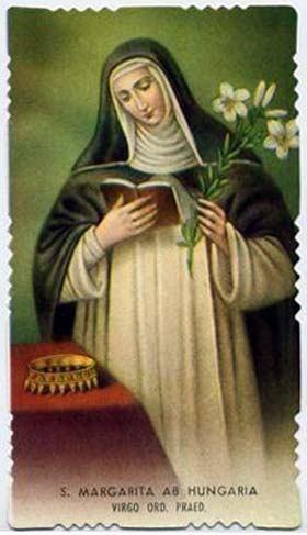 18. siječnja - Sveta Margareta Ugarska, djevica