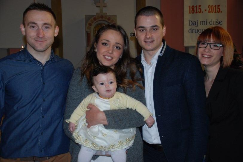 31. siječnja 2015. - Krštenje: Nina Pećar