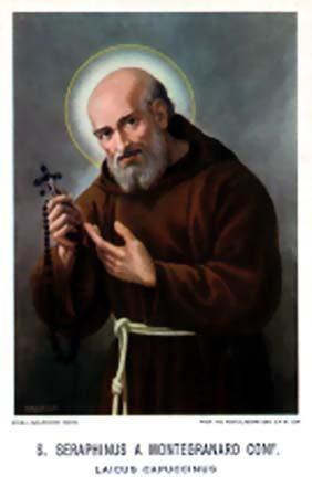 12. listopada - Sveti Serafin, redovnik