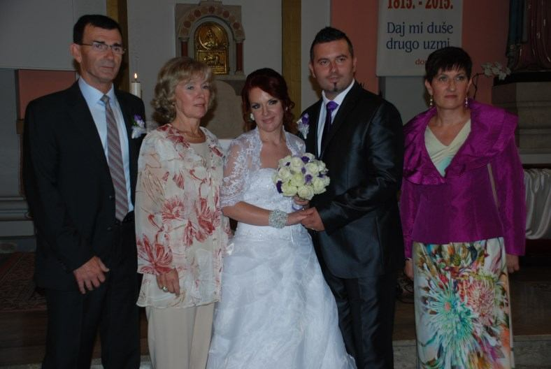 3. listopada 2015. sakrament Ženidbe Božidar Maškarin i Andrea Vodopija