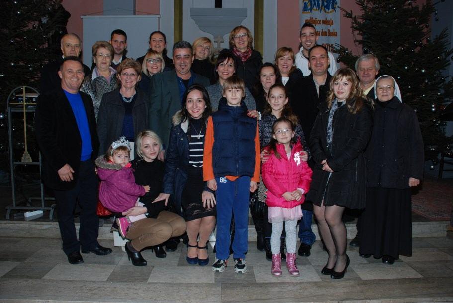 19. prosinca 2015. - 25. godina sakramentalnog Braka - Agica i Bruno Martinović