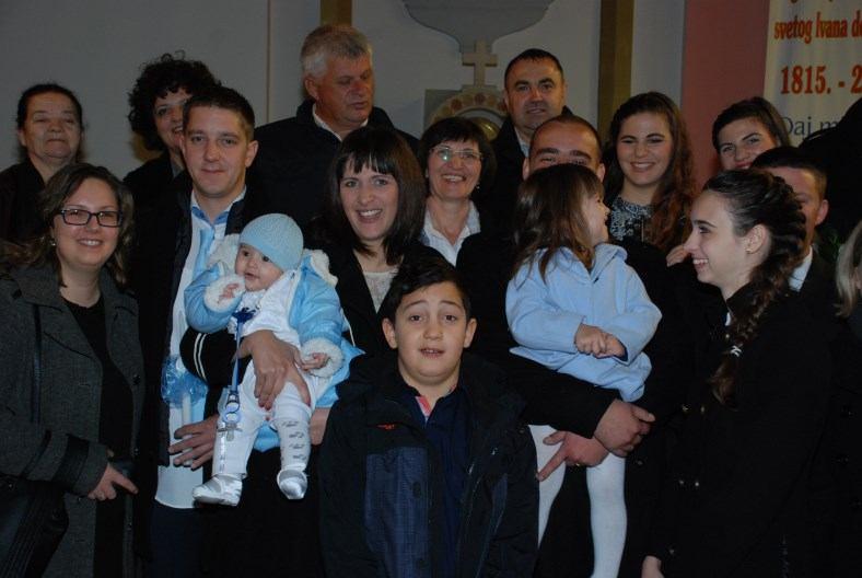 6. prosinca 2015. - Sakrament Krštenja Jure Nikola Milković