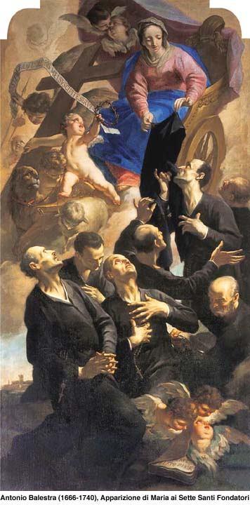17. veljače - Sedam svetih utemeljitelja reda slugu Blažene Djevice Marije