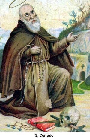19. veljače - sveti Konrad Pjačenski, pustinjak TOR