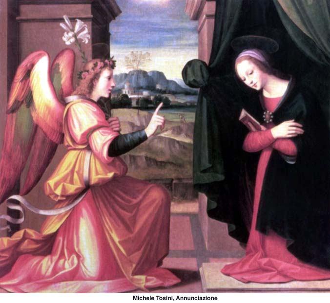 25. ožujka - Navještenje Gospodinovo - Blagovijest