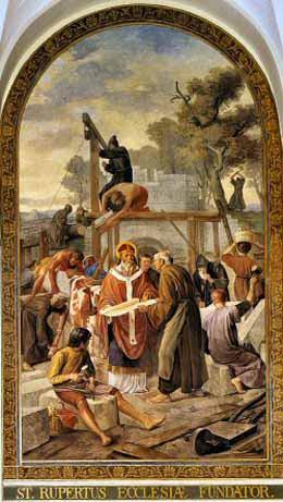 27. ožujka - Sveti Rupert, prvi salzburški biskup.