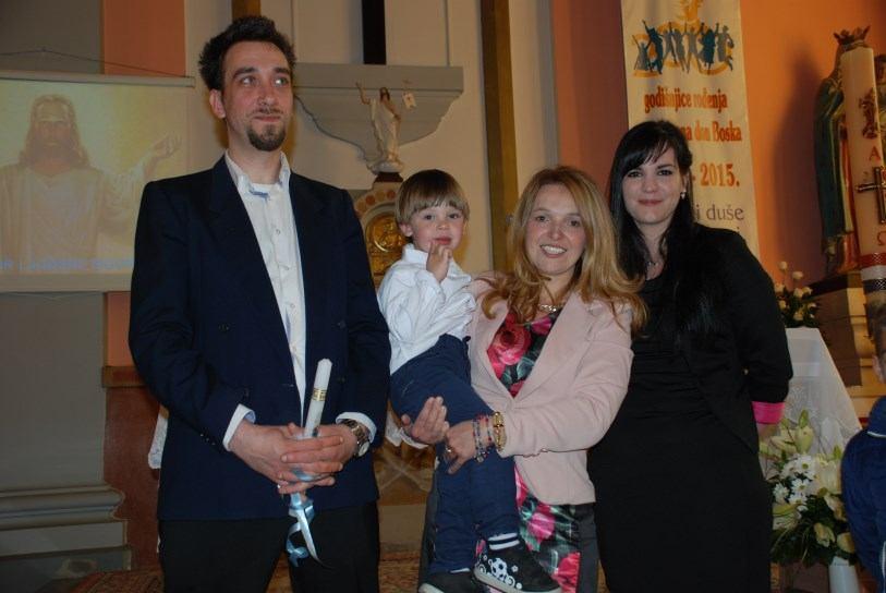 19. travnja - Krštenje Leona Burazer