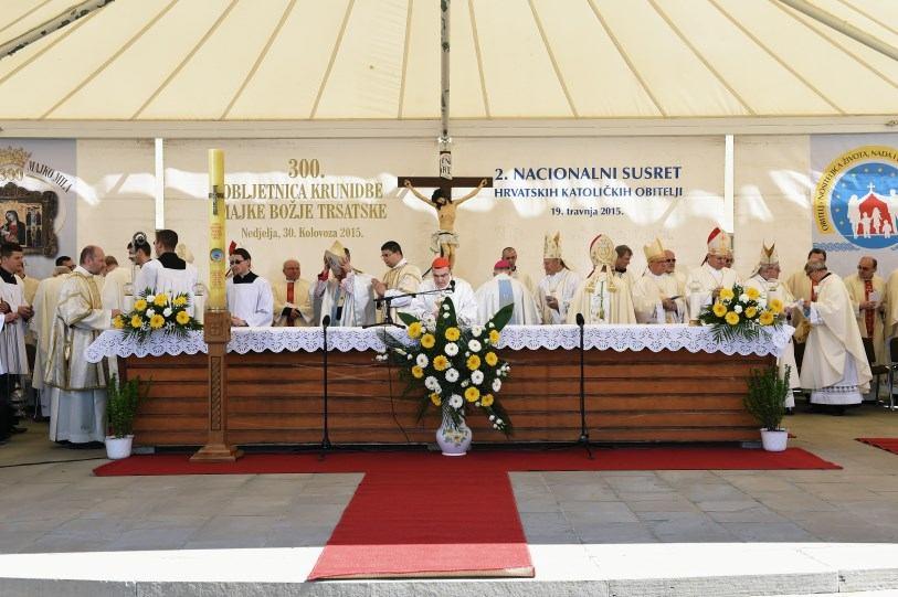 19. travnja 2015. - Trsat - Propovijed biskupa Valtera Župana
