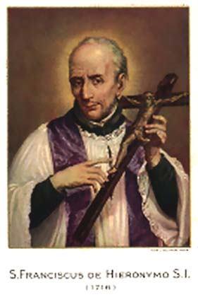 11. svibnja - Sveti Franjo de Geronimo, prezbiter, DI