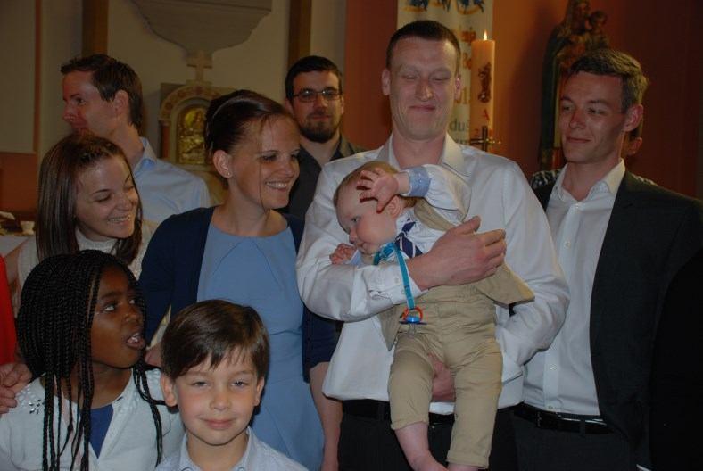 16. svibnja 2015. - Krštenje Malakai James Juraj Quinn