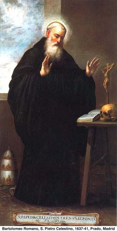19. svibnja - Sveti Celestin, V., papa.