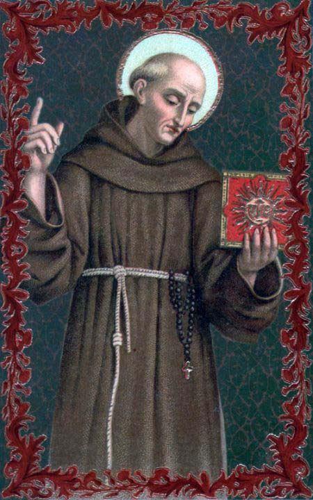 20. svibnja - Sveti Bernardin Sijenski, prezbiter, OFM