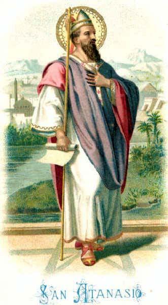 2. svibnja - Sveti Atanazije, biskup i crkveni naučitelj