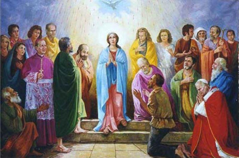 20. svibnja 2018. - Nedjelja Duha Svetoga - Duhovi