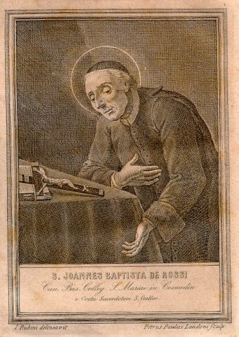 23. svibnja - Sveti Ivan Krstitelj đe'Rossi, prezbiter.