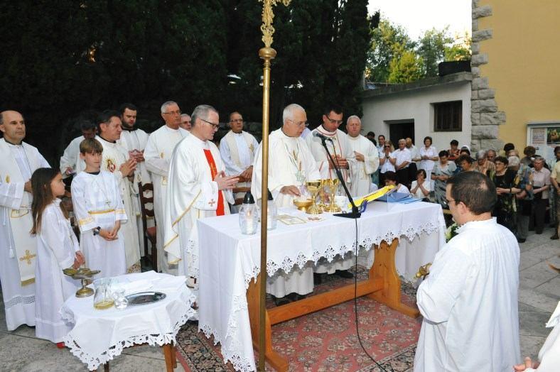 13. lipnja 2015. Proslava župnog blagdana na Kantridi