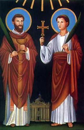 2. lipnja - Sveti Marcelin i Petar, mučenici