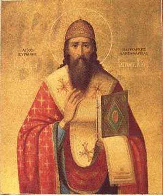 27. lipnja - Sveti Ćiril Aleksandrijski, biskup i crkveni naučitelj