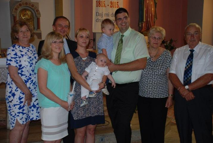7. lipnja 2015. - Sakrament Krštenja primio je Loris Sušanj