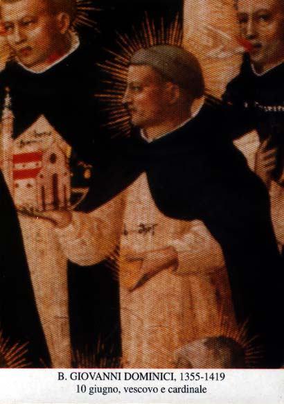 10. lipnja - Blaženi Ivan Dominici, biskup dubrovački i kardinal