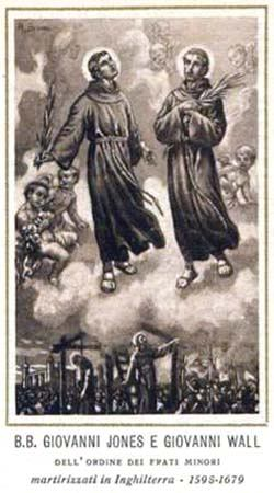 12. srpnja - Sveti Ivan Jones i Ivan Wall, prezbiteri i mučenici