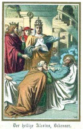 17. srpnja - Sveti Aleksije