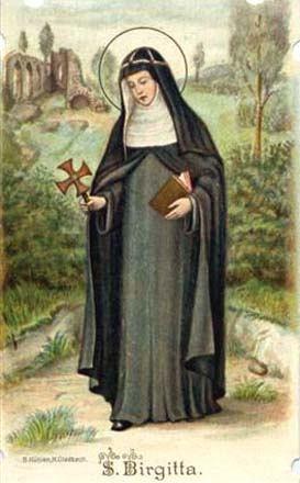 23. srpnja - Sveta Brigita, redovnica
