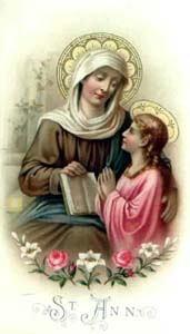 26. srpnja - Sveti Joakim i Ana, roditelji Blažene Djevice Marije