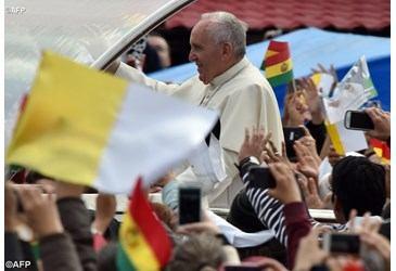 9. srpnja - Papa Franjo u Boliviji  Sv. Antun Padovanski Rijeka