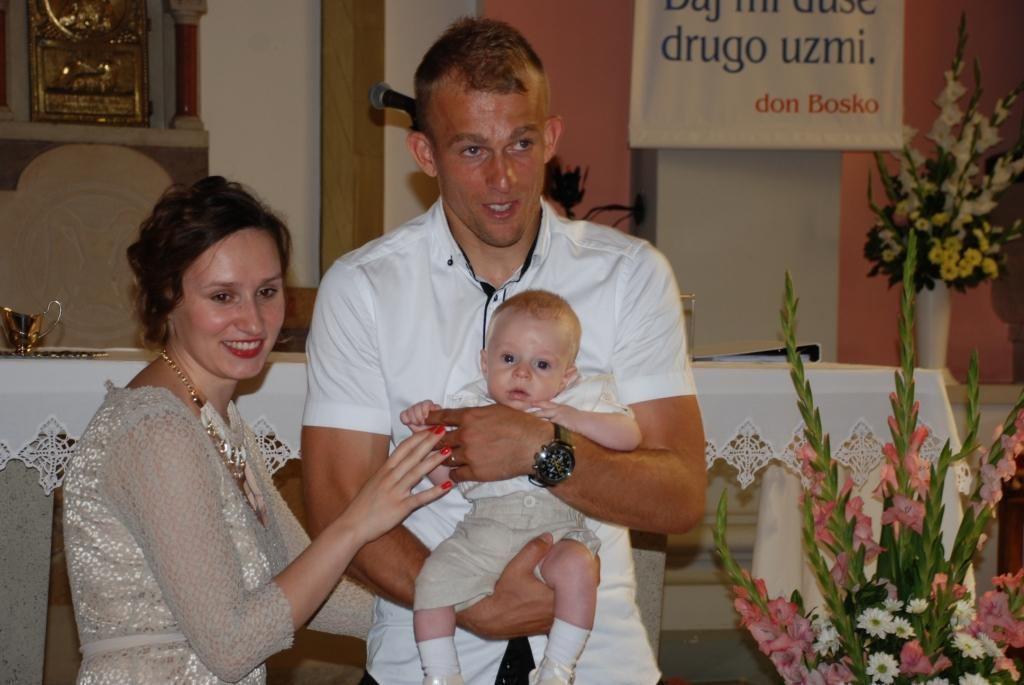 16. kolovoza 2015. - Na Kantridi je kršten Jakov Prskalo