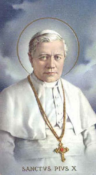 21. kolovoza - Sveti Pio X. Papa