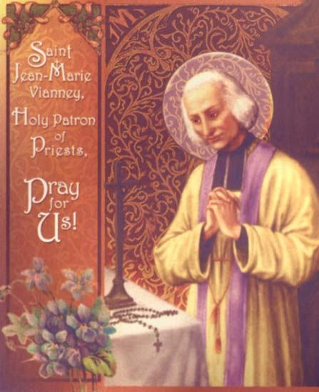 4. kolovoza - Sveti Ivan Marija Vianney, svećenik