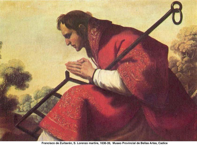 10. kolovoza - Sveti Lovro, đakon i mučenik
