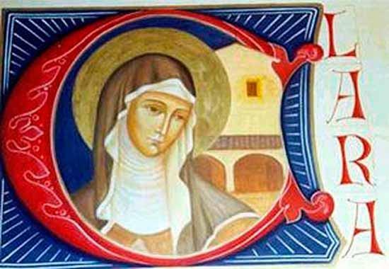 11. kolovoza - Sveta Klara, djevica
