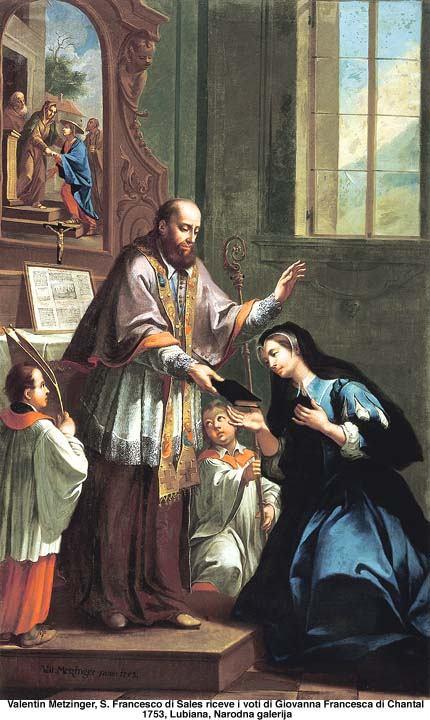 12. kolovoza - Sveta Ivana Franciska de Chantal