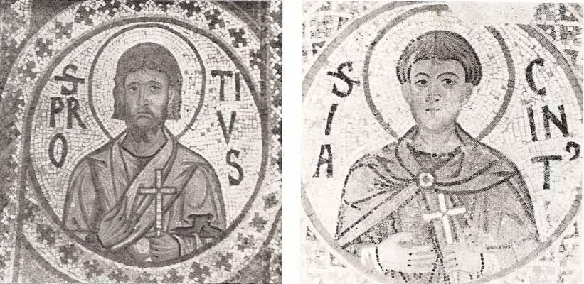 11. rujna - Sveti Proto i Hijacint, mučenici.