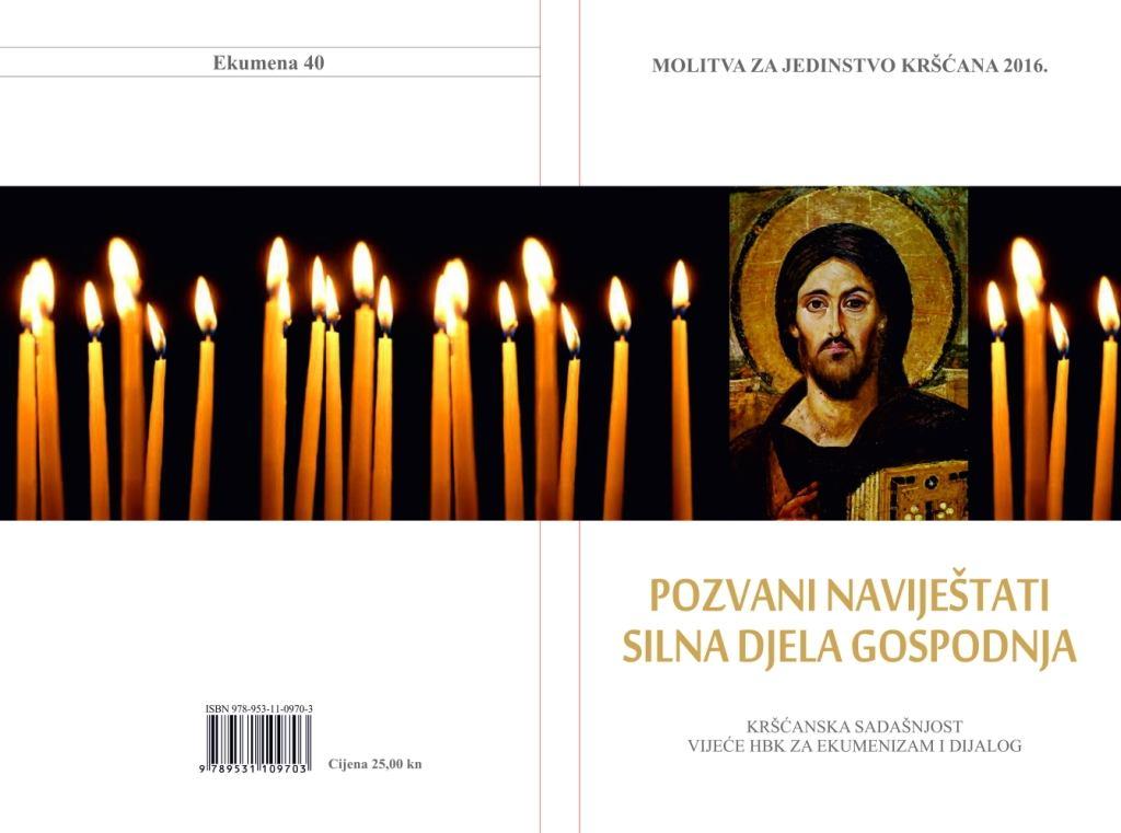 Molitvena osmina za jedinstvo kršćana (18.-25. siječnja) 2016.
