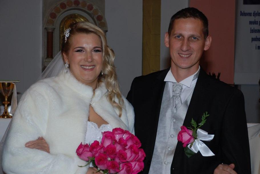 Kantrida, 15. listopada 2016. Vjenčanje Danijela Gašparović i Maje Grbac