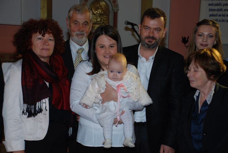 16. listopada 2016., u crkvi na Kantridi krštena je Ada Puškarić