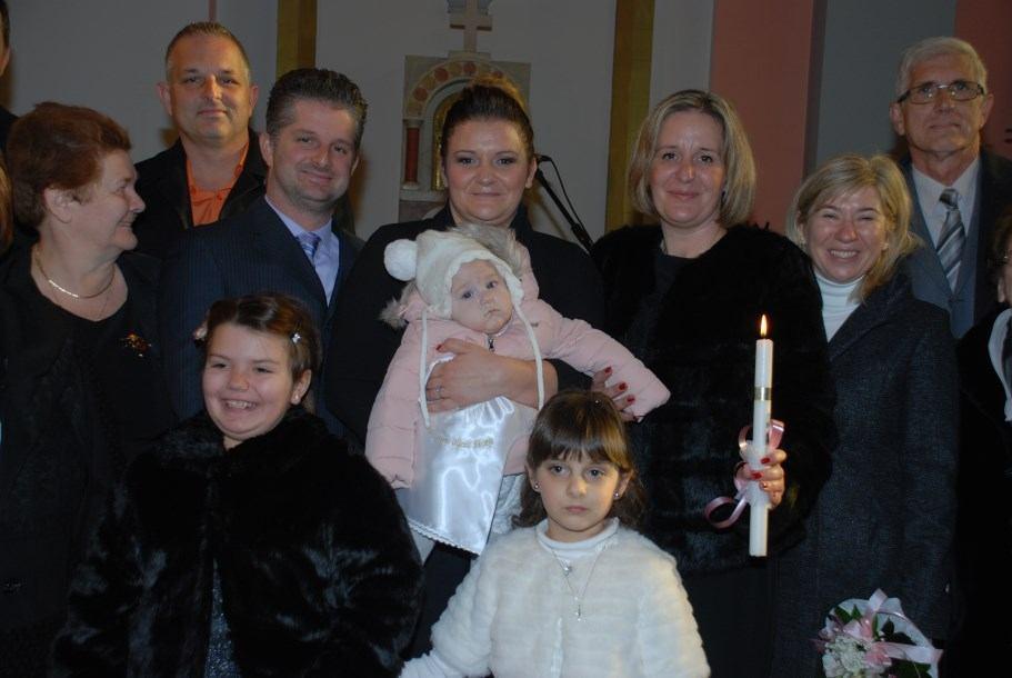 17. prosinca 2016. - Na Kantridi krštena Mia Stanković