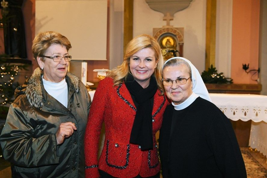 Predsjednica Republike Hrvatske na Kantridi