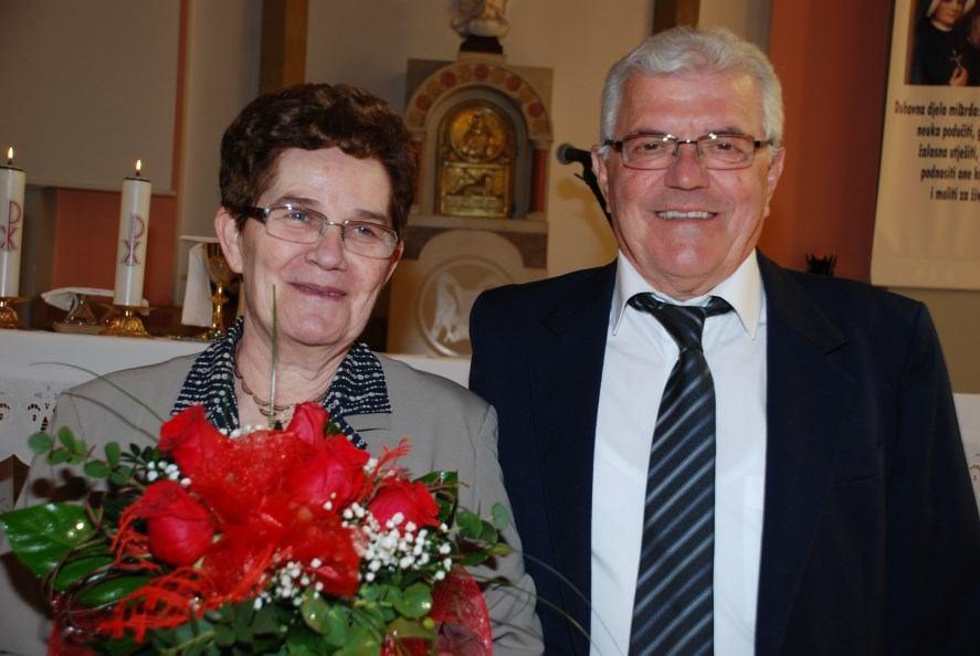 16. travnja 2016. - 50. godišnjica sakramenta Ženidbe Tonće i Jelice Čabrić